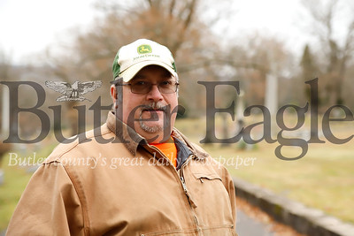 Donald Bolt, North Side Cemetary superintendent. Seb Foltz/Butler Eagle