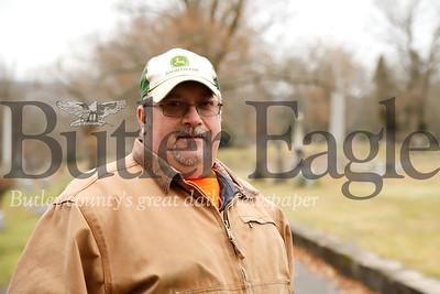 Donald Bolt, North Side Cemetary superintendent. Seb Foltz/Butler Eagle