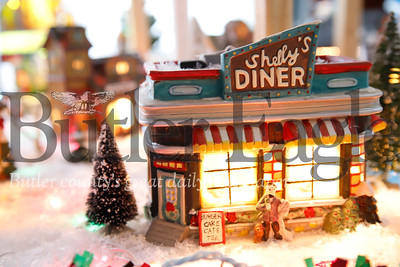 Eighty-year-old Ernie Taylor's Christmas model display. Seb Foltz/Butler Eagle