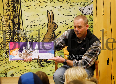 Children's author Gene Natali reads his book 'The List' to a group of children at Barnes and Noble Cranberry's StoryTime in Cranberry. Seb Foltz/Butler Eagle