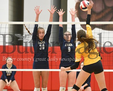 High School Volleyball-Knoch High School vs Thomas Jefferson at Fox Chapel