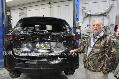 Harold Aughton/Butler Eagle: Baglier Collision Cente, Body Shop Manager Norm Nesbitt