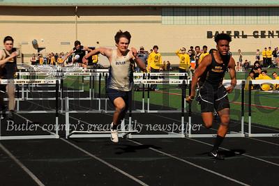 Boys 100 hurdles Butler @ NA