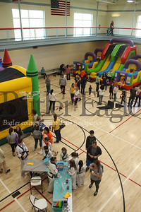 he event ran from 11 a.m. to 2 p.m. and featured vendors, activities and previews of current and upcoming offerings at the YMCA. Photo by Caleb Harshberger