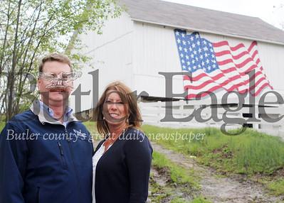 Harold Aughton/Butler Eagle: Elder A. Vogel Jr and wife, Sue.