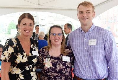 Harold Aughton/Butler Eagle: (Left to right) Lara Wozniak, Nextier Bank; Audrianna Bly, Spring Hill Suites; Jordy Grady, ANR.