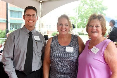 Harold Aughton/Butler Eagle: Brad Wojnar, First Commonwealth Bank; Amy Pack, Butler County Tourism, and Barb Anderson, Butler County Tourism.