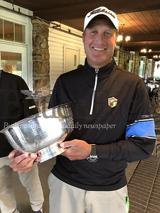 Sean Knapp and trophy