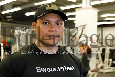 Pastor Amadeus Gandy.  Seb Foltz/Butler Eagle