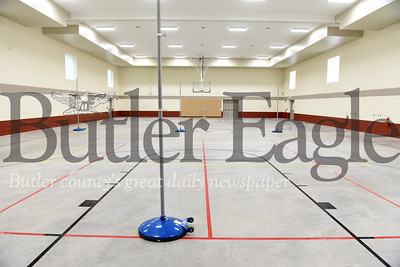 Harold Aughton/Butler Eagle: Zion UMC's new recreational room.