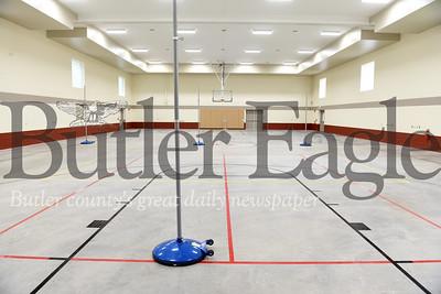 Harold Aughton/Butler Eagle: Zion UMC's new recreational room.