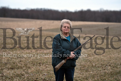 Farmer Evelyn Minteer talking about Sunday Hunting