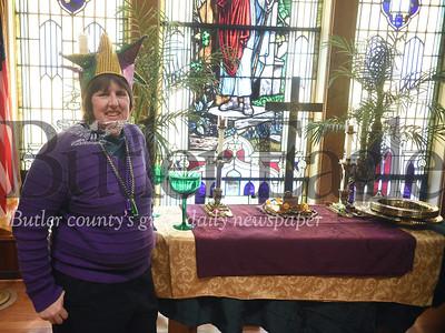 53894 Mardis Gras service at St. John's United Church of Christ