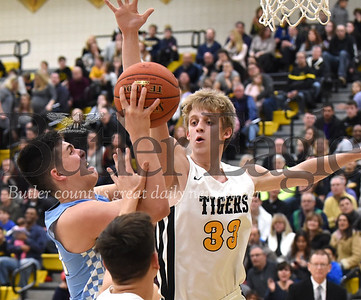 18748 Seneca Valley  vs North Allegheny Boys Basketball game at North Allegheny High School