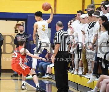 61214 Mars Vs Indiana Boys basketball gmae at Mars High School