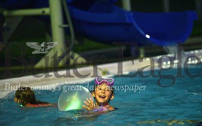 Glow and the Dark Swin - Armco Pool - Slippery Rock