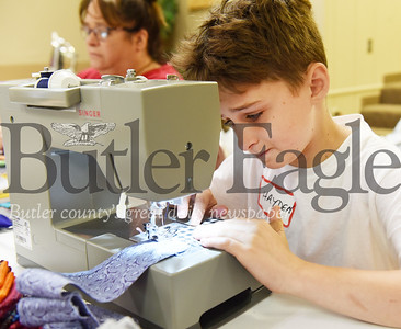 Harold Aughton/Butler Eagle: Hayden Stadtmiller, 12, of Saxonburg