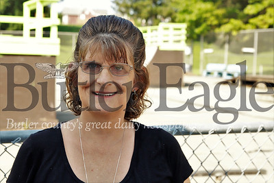 Father Marinaro Park story: Area resident  and park volunteer organizer Cindy Parker. Seb Foltz/Butler Eagle