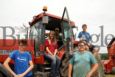 Left to right: Austin, Stacy, Brian,Tyler and Garrett Miller. Seb Foltz/Butler Eagle