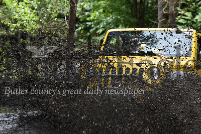 Harold Aughton/Butler Eagle: Harold Aughton/Butler Eagle: Jeep enthusiasts navagate the mud trails at the 9th Annual Bantham Jeep Heritage Festival Saturday, June 8.