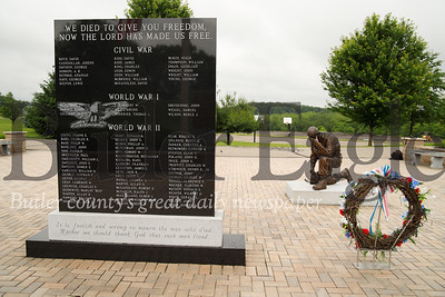 Penn Township Veteran's Memorial. Intersection of 3 Degree Road and Airport Road by the Butler Airport and Penn Township building. Seb Foltz/Butler Eagle
