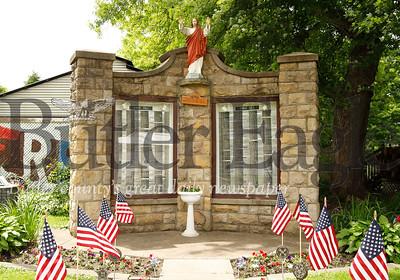 Boyers Honor Roll war memorial. Boyers, Pa. (Seb Foltz/Butler Eagle)