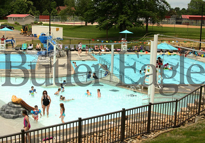 The newly renovated Zelienople Community Pool opened for the season over the weekend. Seb Foltz/Butler Eagle