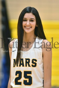 Mars Girls Basketball #25 Kaitlyn Pelaia