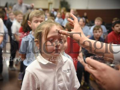 31343 Ash Wednesday Service at Butler Catholic School