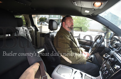 Lyft and Uber driver Jamie Kline