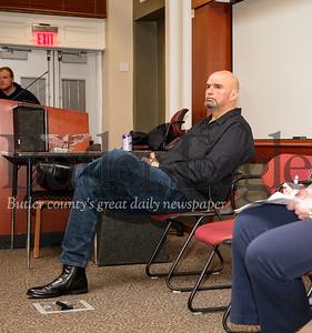 Lt. Gov. John Fetterman Listening Tour on Marijauna at SRU