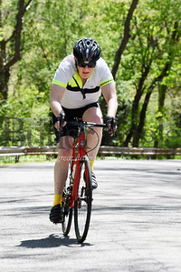 Harold Aughton/Butler Eagle: Mark Abbott, 69, of Saxonburg took a 35 mile bike ride Monday afternoon with fellow bikers Denny Soeder of Shaler and David Schnur of Butler.