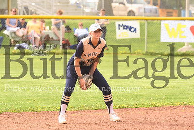 Knoch #15 vs New Castle  Seb Foltz/Butler Eagle
