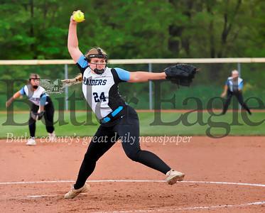 Starting pitcher Haley Walter. Seb Foltz/Butler Eagle