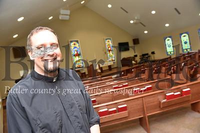 Harold Aughton/Butler Eagle: Pastor Shawn Smith, St. Paul Lutheran Church