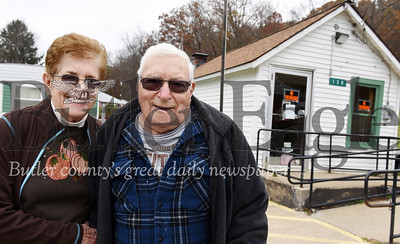Harold Aughton/Butler Eagle: Barb and Lee Cook of Hilliards have owned the building that housed the Post Office for the past 31 years.