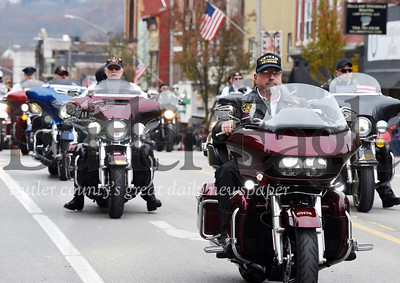 Harold Aughton/Butler Eagle: Butler Veterans Day Parade.