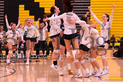 Freeport girls celebrate a come-from-behind 3-2 win over Avonworth. Seb Foltz/Butler Eagle