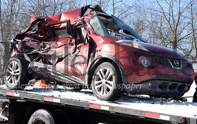 Harold Aughton/Butler Eagle: A three vehicle crash ocurred on Rt. 19 near Lutz Road in Jackson Twp. Wed., Nov. 13, 2019 sending several people to area hospitals.