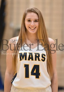 Mars Girls Basketball #14 Mara Fuller