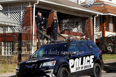 Police, fire and EMS respond to alleged stabbing Tuesday on Wayne St.