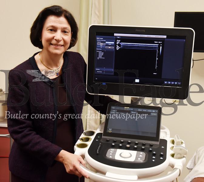 Harold Aughton/Butler Eagle: Dr. Ruthane Reginella, BHS Imaging Center