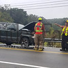A three-car accident on Monday morning slowed traffic on Dinnerbell Road at Frazier Road.*photos by Paula G.