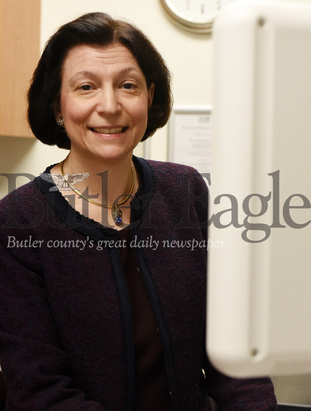 Harold Aughton/Butler Eagle: Dr. Ruthane Reginella, BHS Imaging Center