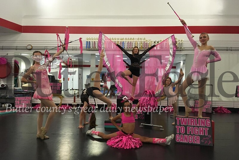 Jen's Academy Dancers will host and perform at  second annual Perform for a Cure Twirl-A-Thon fundraiser for the Butler Breast Cancer and Women's Cancer Support Group on Oct. 14.<br /> Steve Ferris/butler eagle