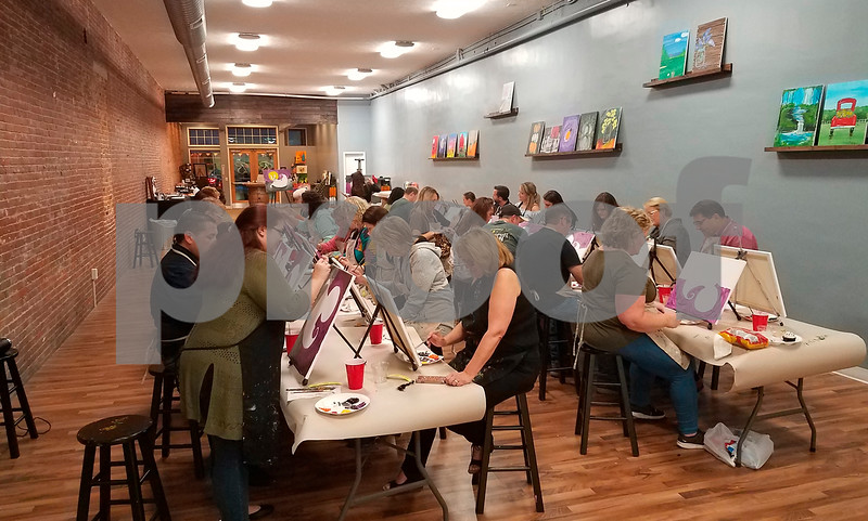 Ghouls for Good Paint Night