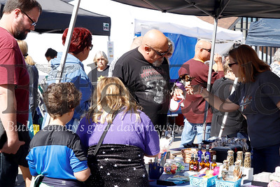 My Dog's Care Center booth at 2019 Mars Applefest. Seb Foltz/Butler Eagle
