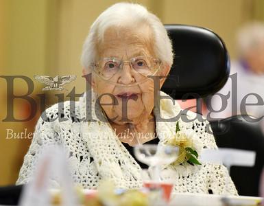 Harold Aughton/Butler Eagle: Ruth Werner will turn 100 December 15.