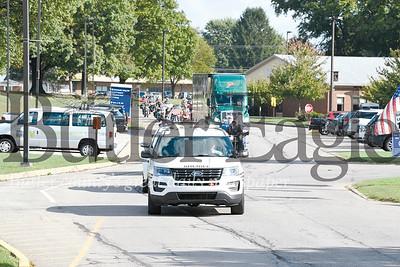 Adams Township motorcycle caravan