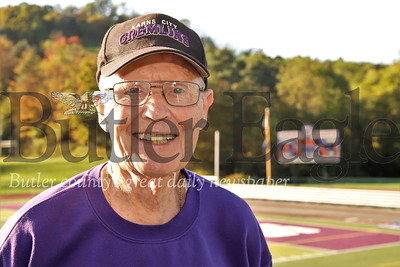 Karns City Announcer. Seb Foltz/Butler Eagle